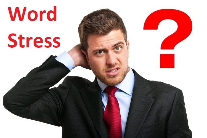 قوانین استرس لغات در زبان انگلیسی - Word Stress Rules in English