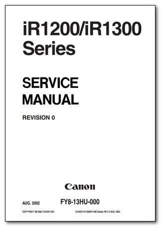 DVD سرویس منوآل های فتوکپی Canon
