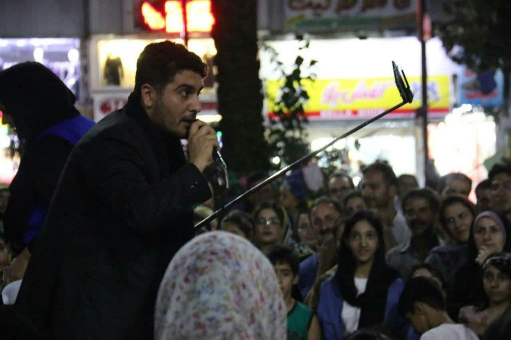 گزارش تصویری استقبال مردم از برگزاری تئاتر خیابانی