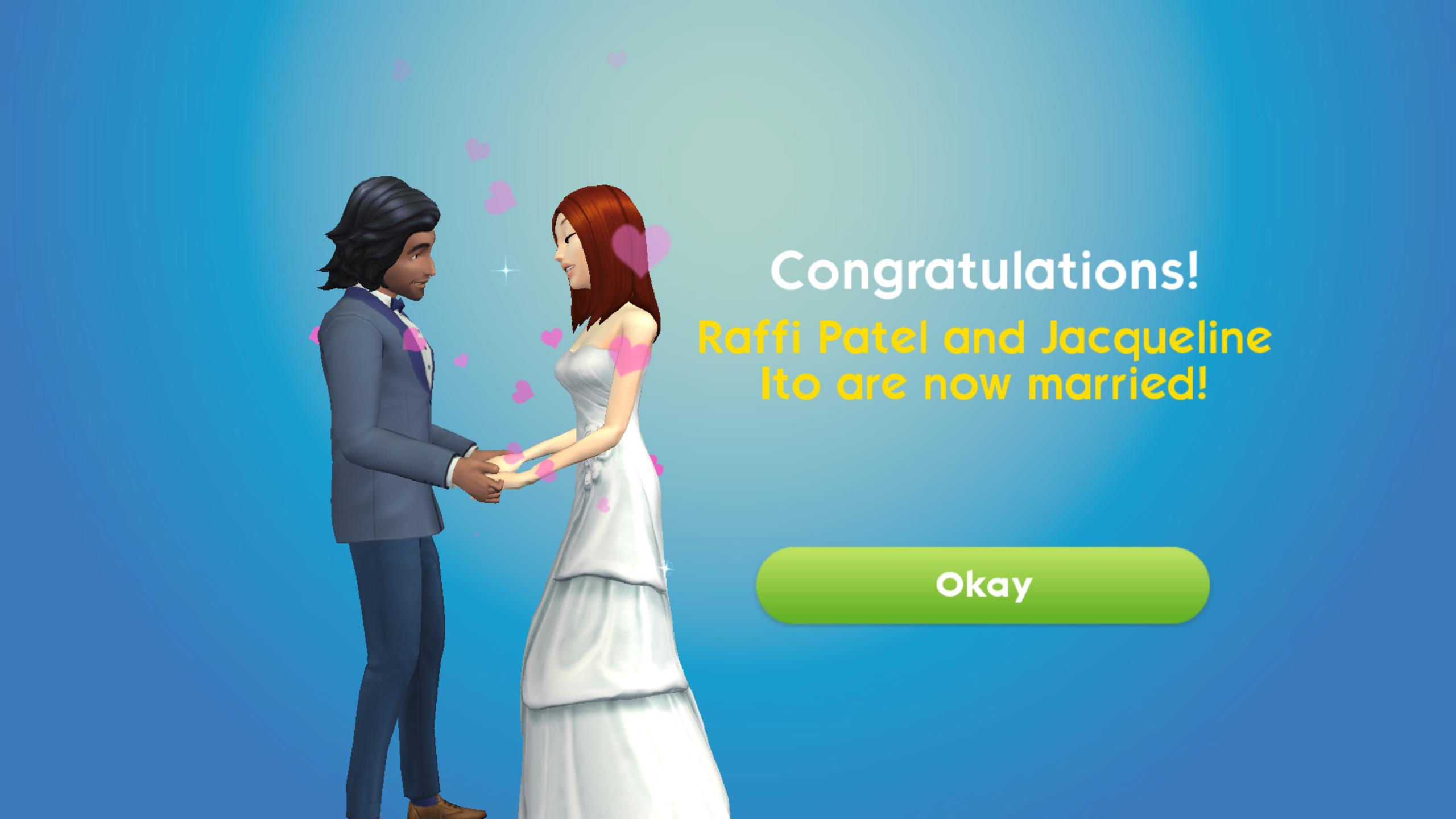 ازدواج سیمز موبایل بازی آندروید سیمز سیمز ازدواج عروسی
