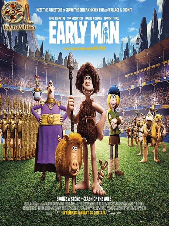 دانلود انیمیشن انسان های اولیه - Early Man 2018 دوبله فارسی