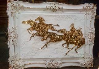 تابلو اسب فایبرگلاس