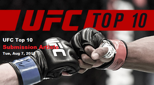 دانلود برنامه UFC Top 10 Submission Artists + ریلیز 720p