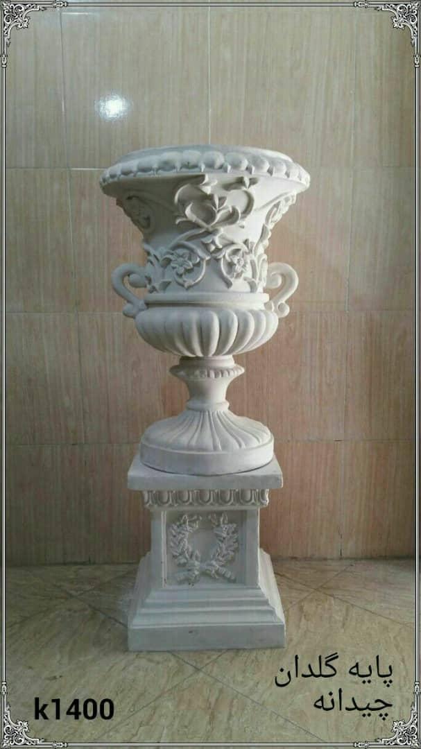 پایه و گلدان فایبرگلاس چیدانه کد 1400