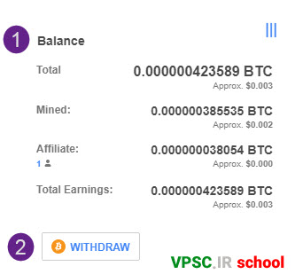 CryptoTab Balance and WITHDRAW