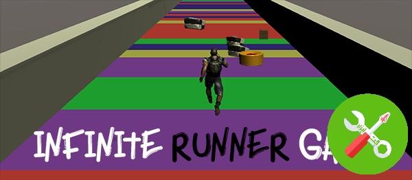 پکیج یونیتی INFINITE RUNNER 3D