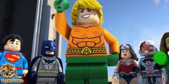 دانلود انیمیشن لگو دی سی آگوآمن Lego DC Comics Super Heroes The Aquaman 2018 دوبله فارسی