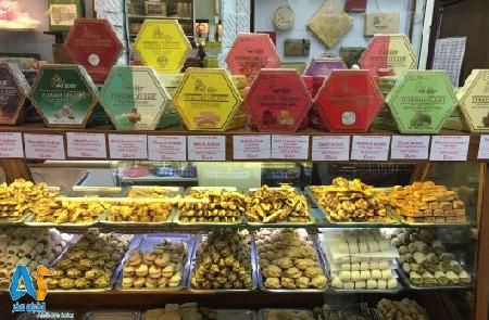 شیرینی ترکی هاجی بکیر ،استانبول-الفبای سفر