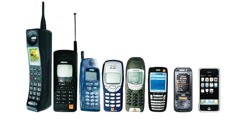 نسل های تلفن همراه
