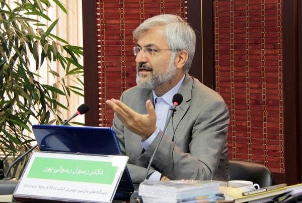 رسول رسولیپور رئیس دانشکدۀ ادبیات و علوم انسانی دانشگاه خوارزمی