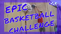 EPIC Basketball Shooting Challenge vs Bro+Sis