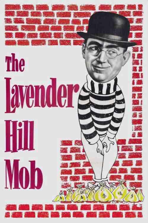 فیلم دوبله فارسی The Lavender Hill Mob 1951