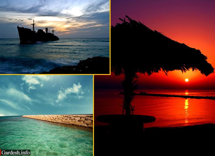 مجموعه تصاویر بسیار زیبا از جزیره کیش