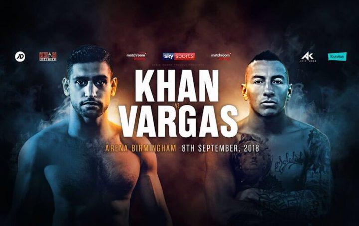 دانلود  مسابقه بوکس : Amir Khan Vs Samuel Vargas