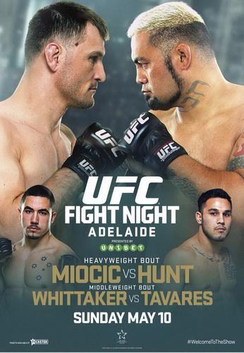 دانلود  یو اف سی فایت نایت 65 |UFC Fight Night 65: Miocic vs. Hunt_نسخه 720