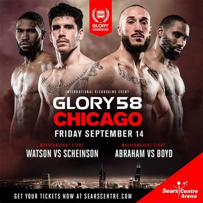 دانلود مبارزات کیک بوکسینگ |Glory 58: Chicago   + سوپر فایت
