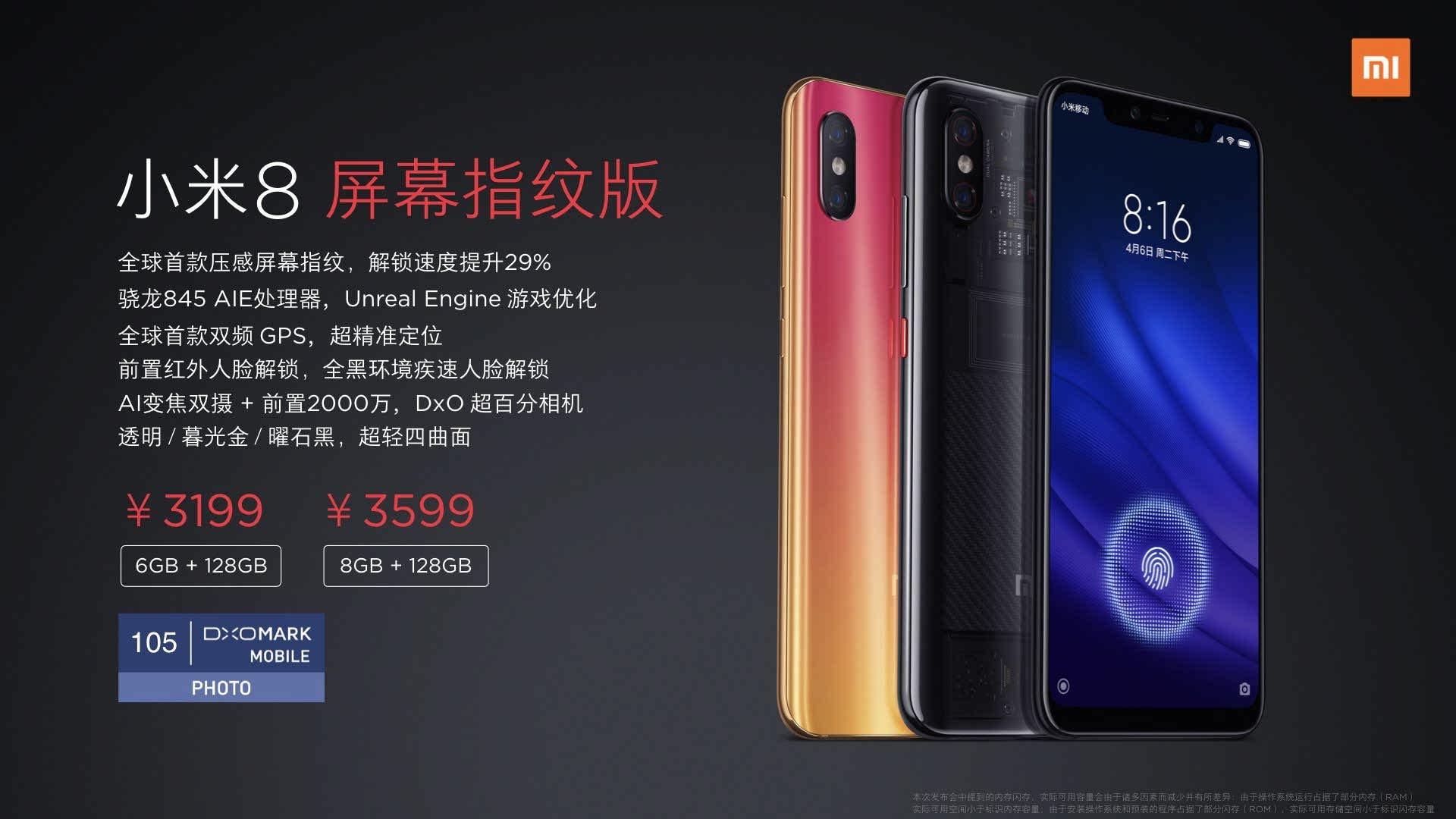 شیائومی می 8 پرو (Xiaomi Mi 8 Pro)