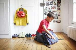 استرس کودک براي رفتن به مدرسه