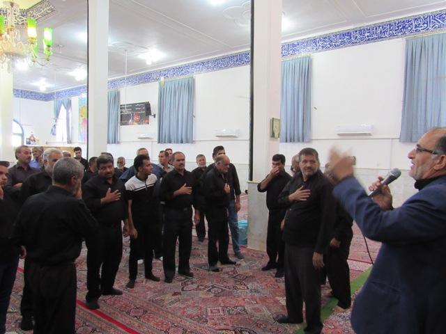 مراسم عزاداری روز سوم شهادت امام حسین (ع) در محله صادقیون رفسنجان  برگزار شد