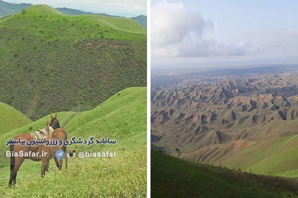 اقامتگاه بومگردی در شمال ایران