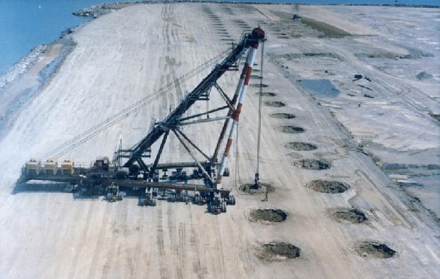 فیلمی جذاب از چگونگی روش تراکم دینامیکی در بهسازی خاک