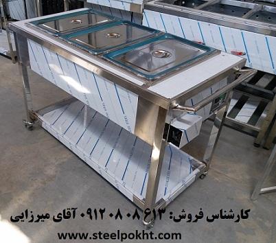 ترولی گرمخانه حمل غذا