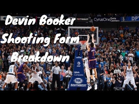 Devin Booker Basketball Shooting Form Breakdown (Basketball Shooting Secrets)