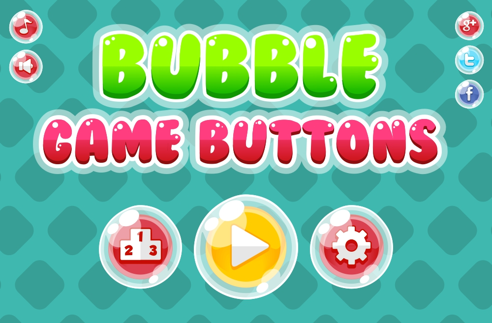 پکیج BUBBLE GAME BUTTON PACK