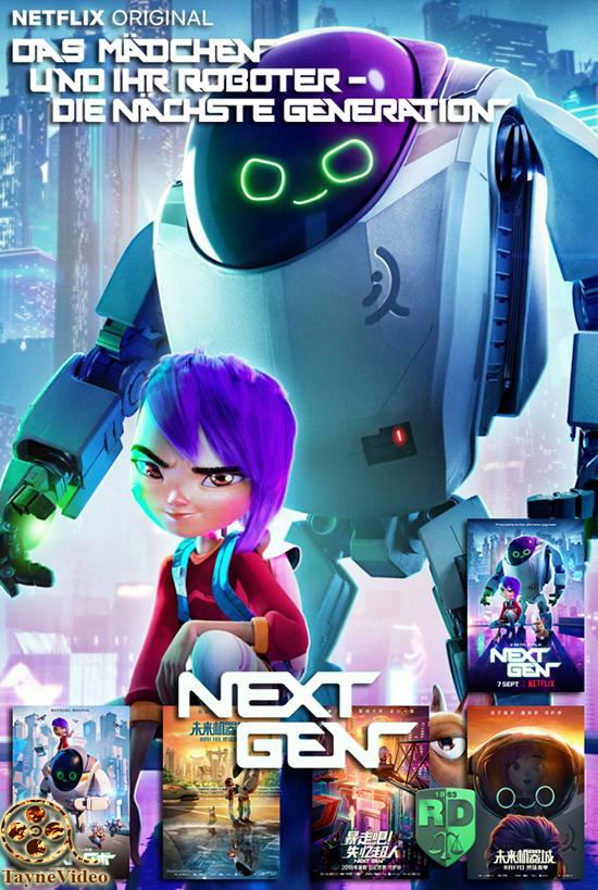 دانلود انیمیشن next gen 2018 - نسل بعدی