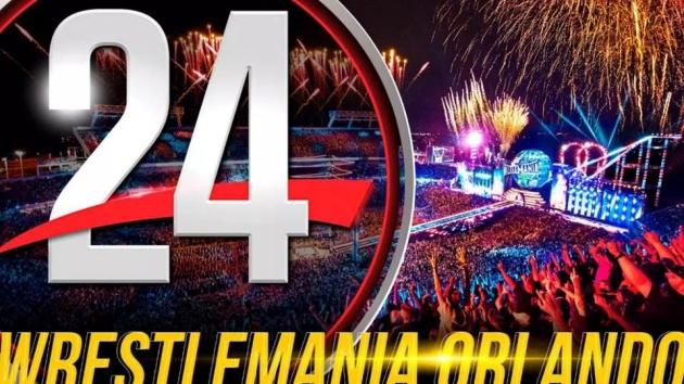 WWE 24 'WrestleMania Orlando' Documentary - Logo