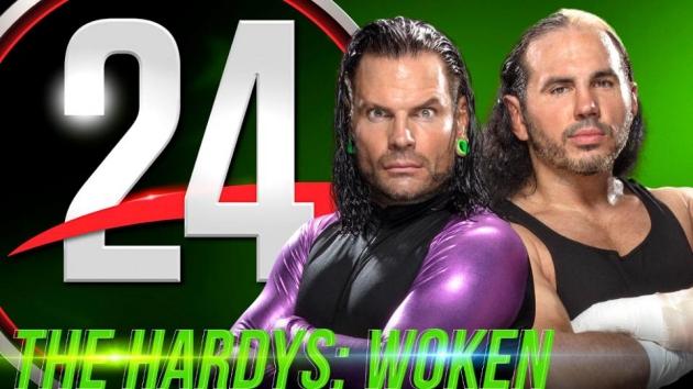 WWE 24 'The Hardys: Woken' Documentary - Logo