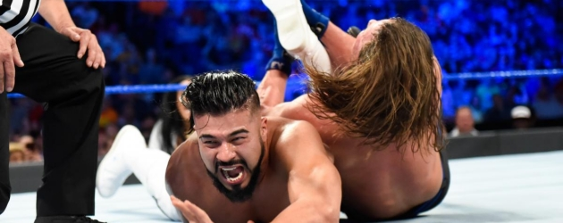 WWE 'AJ Styles: Most Phenomenal Matches' DVD - AJ vs. Andrade Cien Almas