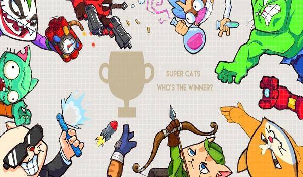 دانلود Super Cats 1.0.23 - بازی اکشن فوق العاده گربه های قهرمان شبیه Brawl Stars اندروید