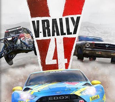 دانلود کرک جدید بازی V-Rally 4