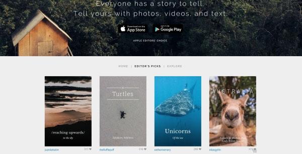 دانلود Stellar برای اشترک گذاری عکس با دیگران
