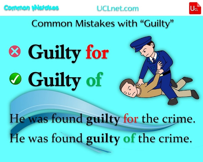 Common Mistakes with guilty