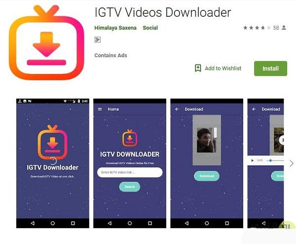 آموزش دانلود فیلم و ویدیو استوری صفحه IGTV اینستاگرام