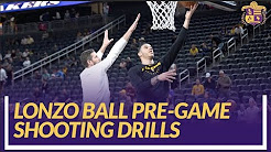 Lakers Nation Pre-Game: Lonzo Ball Shooting Drills Before His First Game Back From Injury
