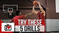 5 Simple Basketball Shooting Drills To Shoot Better!
