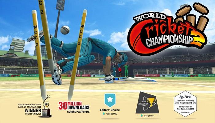 دانلود World Cricket Championship 2 2.8.2.1 - بازی مسابقات جهانی کریکت 2018 اندروید + دیتا
