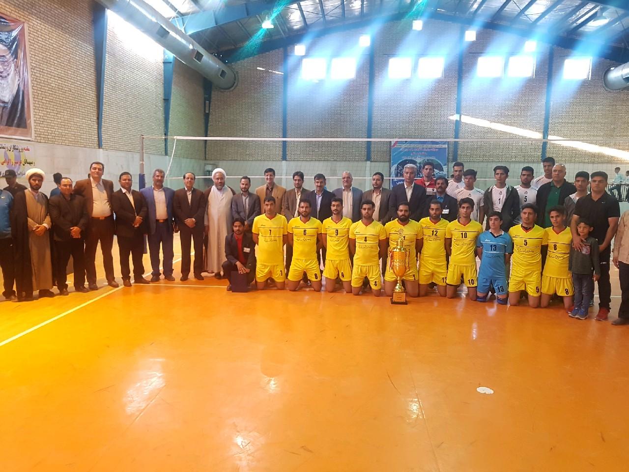زیرکوه،قهرمان اولین دوره مسابقات والیبال مرزداران شرق کشور