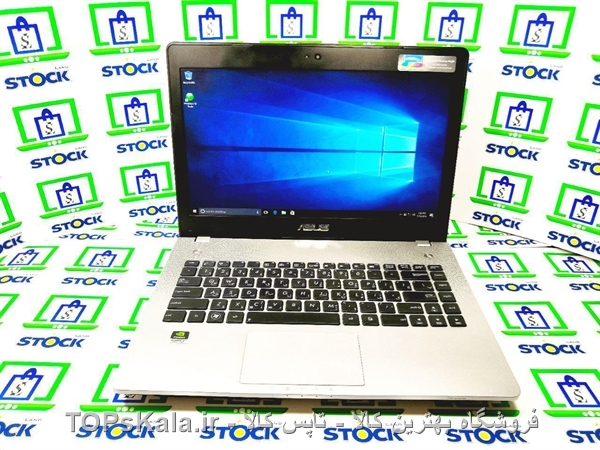 عکس لپ تاپ کارکرده ASUS مدل N46VM