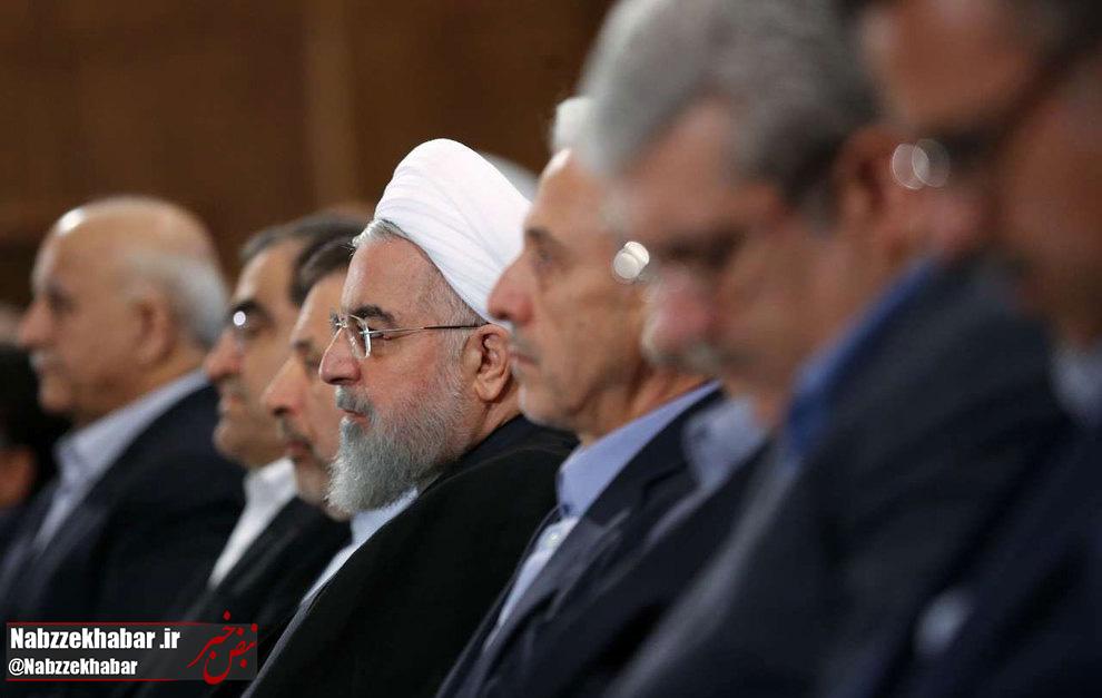 حاشیههای حضور رئیسجمهور در دانشگاه تهران