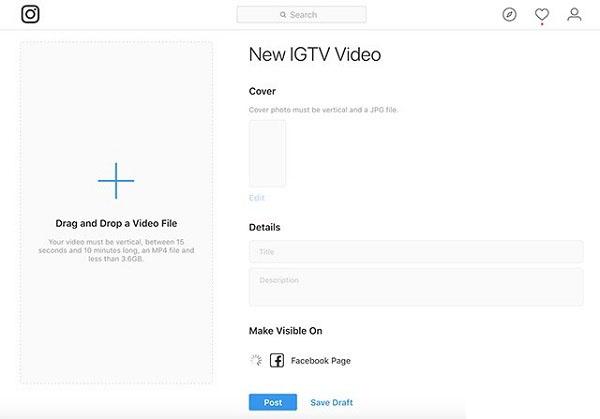 آموزش ساخت کانال IGTV و آپلود ویدیو طولانی یک ساعت در اینستاگرام