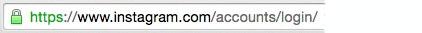 برای جلوگیری از هک پیج اینستاگرام خود URL را چک کنید
