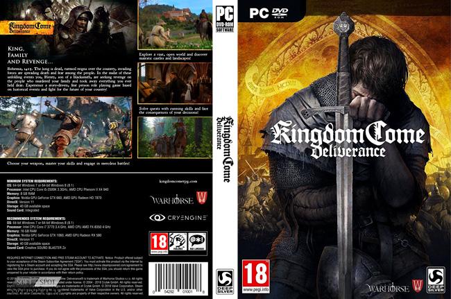Kingdom Come Deliverance Cover
