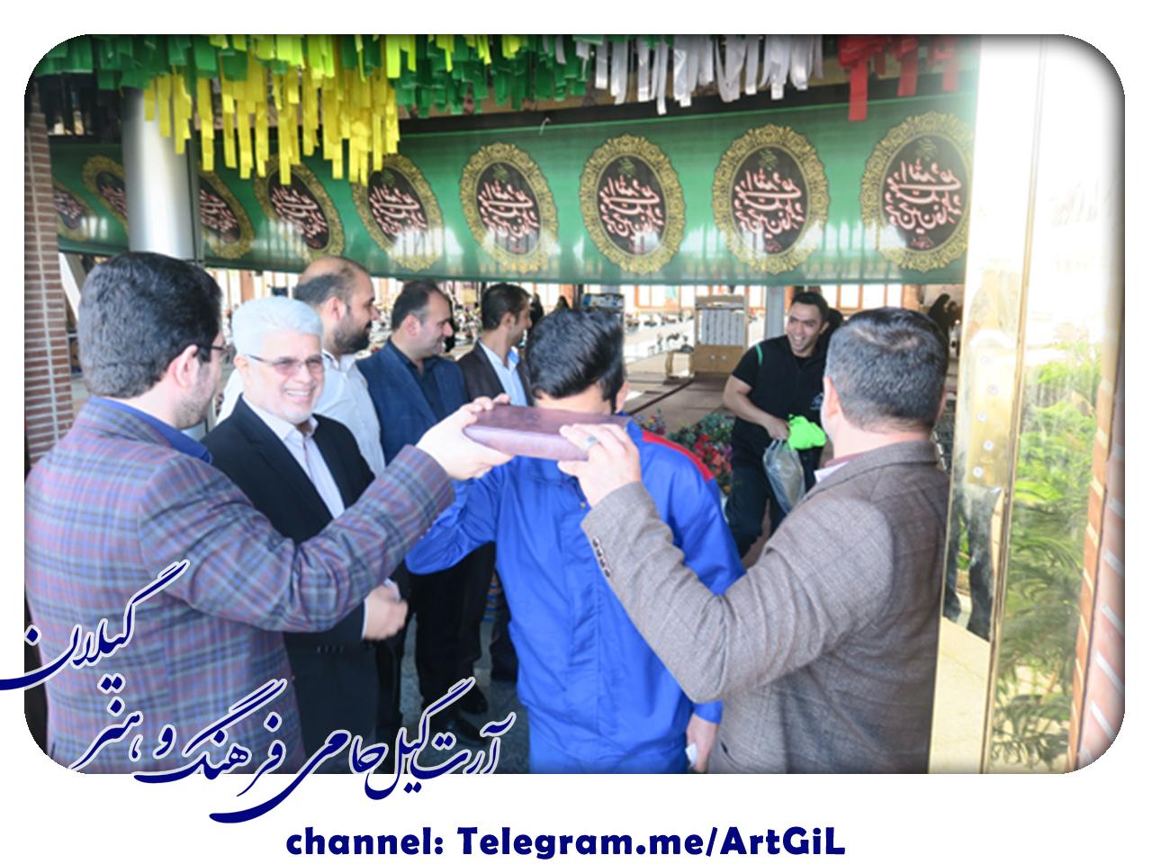 گزارش تصویری مراسم بدرقه کاروان دوم خودرویی و گروه پیشرو اعزامی به کربلای معلی(کاروان خدام العتره)