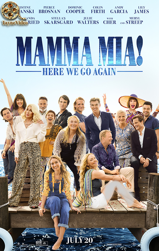 دانلود فیلم mamma mia here we go again 2018