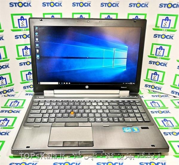 لپ تاپ کارکرده HP مدل 8560W