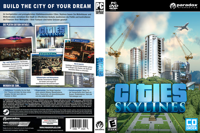 Cities Skylines Cover